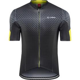 Löffler Pro Vent Bike Jersey Full-Zip Men black/lemon